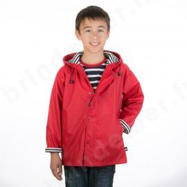 CIRE MARIN enfant/ado NUAGE doublé coton - Coloris rouge