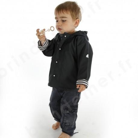 ebd68590f0344 Ciré marin doublé polaire pour enfant du 1 au 16 ans - Marine, Jaune ...