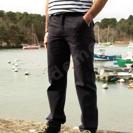 Pantalon marin homme EQUIPAGE Marine