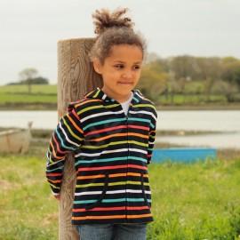 Gilet rayé enfant MARSEILLE Marine/multicolore