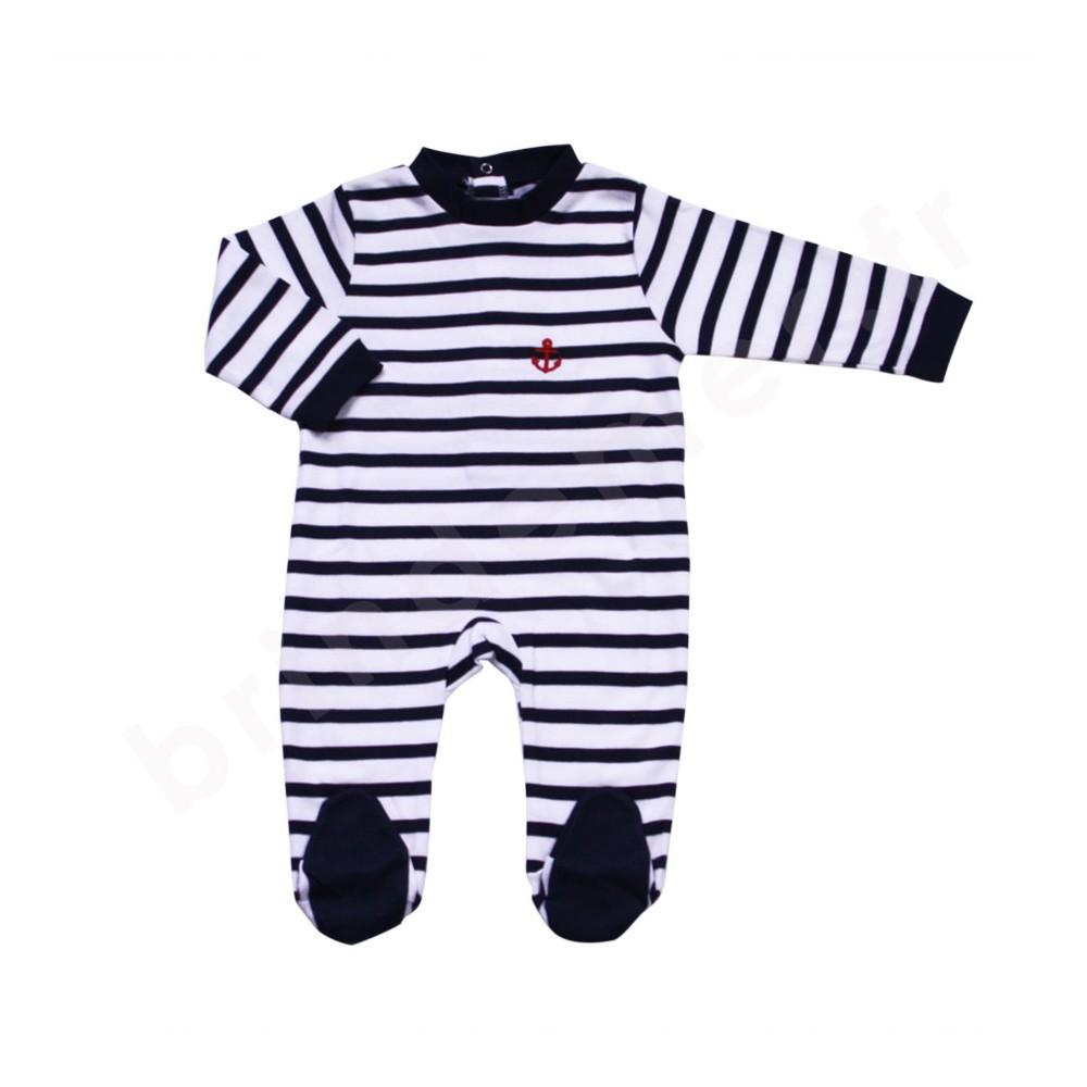 4fd4522b11ce4 pyjama rayé pour bébé du 6 au 23 mois · Dors bien ...