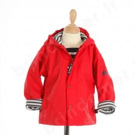 CIRE MARIN doublé polaire NIMBUS ENFANT - rouge par la marque HUBLOT
