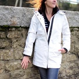 Ciré imperméable doublé hiver femme REGATE CAPTAIN CORSAIRE - coloris Blanc