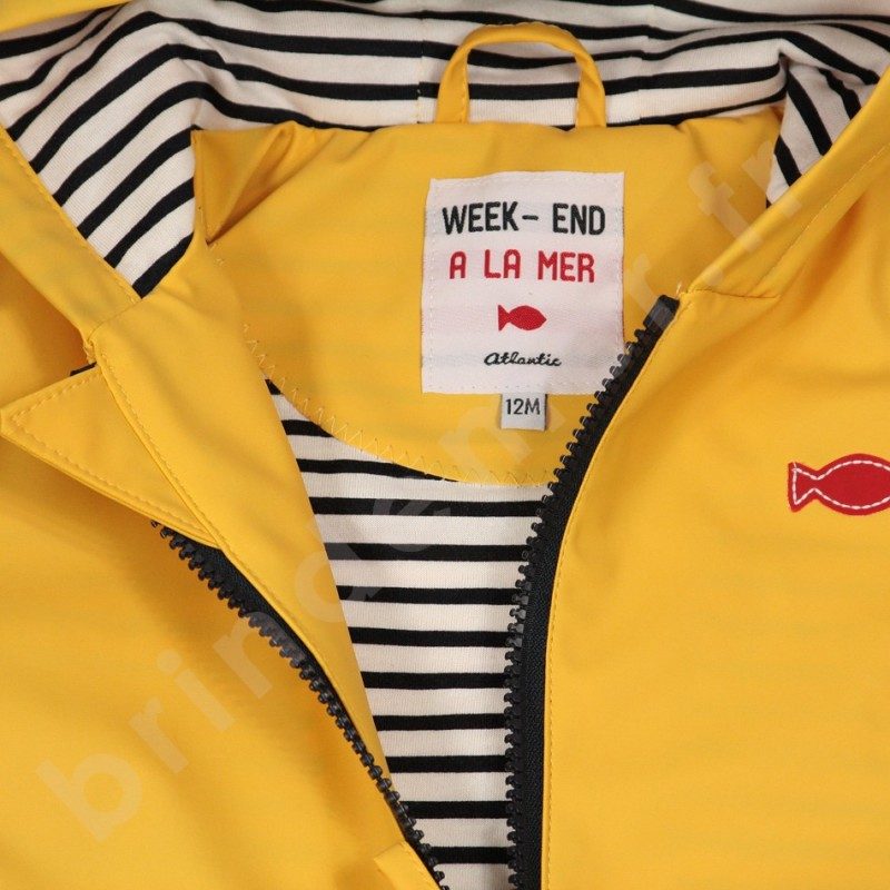 12de65768cedab Week End à la Mer - Veste imperméable - Bébé (garçon)