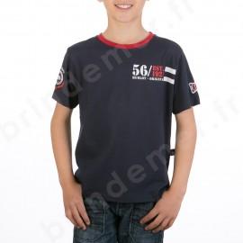 T-Shirt manches courtes garçon - bleu marine