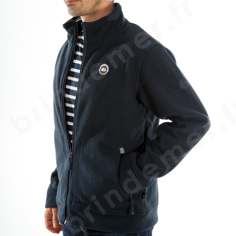 Veste polaire homme habillee