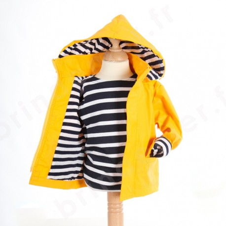 Ciré marin breton jaune pour bébé et enfant