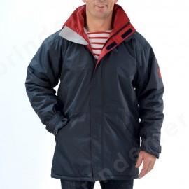 Parka imperméable pour homme, doublé polaire pour homme FOUDRE - coloris au choix, bleu marine ou écorce