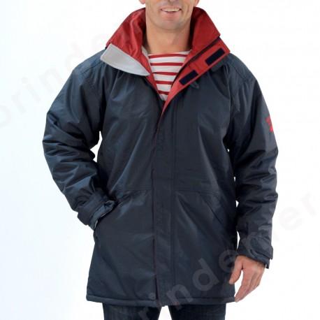 Parka coutures étanches, doublé polaire pour homme ORAGE