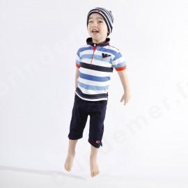Pantalon Corsaire enfant Week-End à La Mer