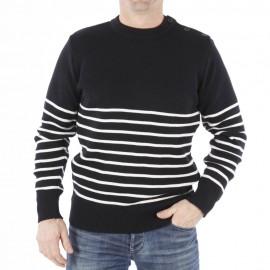 Pull marin breton Brin de Mer - coloris au choix