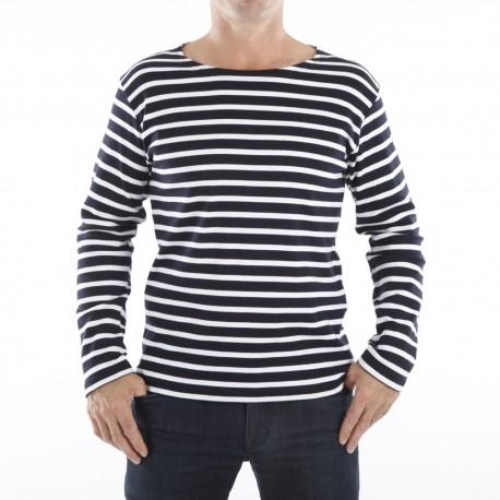 Marinière pour Homme ou Femme - marine rayé blanc