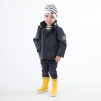 Caban ciré doublé polaire enfant VINCE