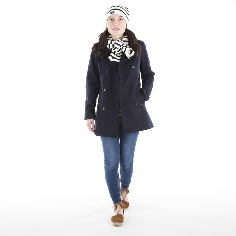 Caban en laine pour femme CABESTAN par la marque CAPTAIN