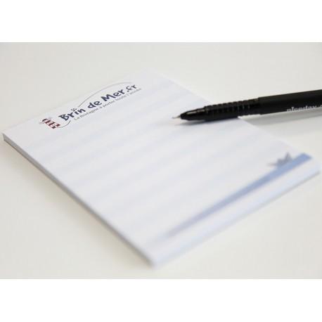 Cadeau - 1 bloc note format A6 50 feuilles