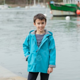 CIRE MARIN enfant/ado NUAGE - bleu turquoise