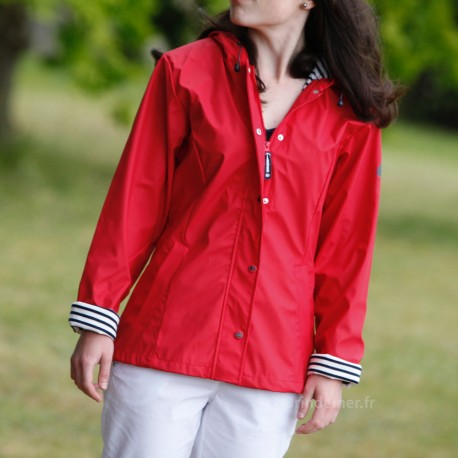 Ciré marin Femme NUANCE - rouge
