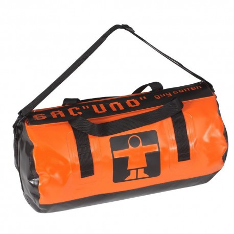 Sac UNO Guy COTTEN Orange/Noir