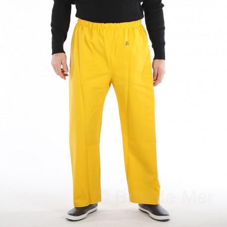 Pantalon POULDO GUY COTTEN Jaune