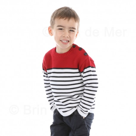 Pull coton enfant ARMORIC