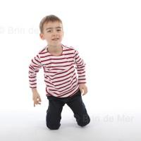 Marinière enfant MARINE - coton épais