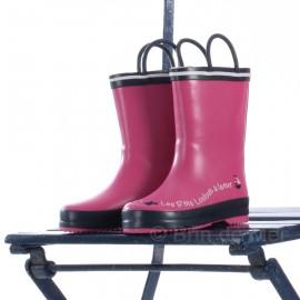 Bottes de pluie enfant 'PANIER'- coloris rose