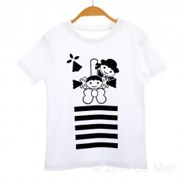 Tee-shirt breton mixte AELIC