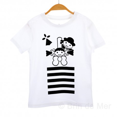796be464d6cd6 Tee-shirt drapeau breton enfant