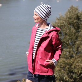 Bonnet rayé marin COTON - INTERJ
