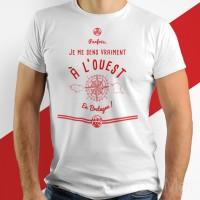 T-shirt - Je me sens vraiment à l'Ouest en Bretagne