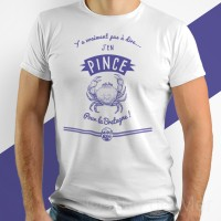 T-shirt - J'en pince pour la Bretagne