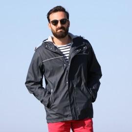 Parka ciré pour homme doublé polaire - HELIE