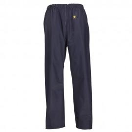 Pantalon POULDO GUY COTTEN bleu marine