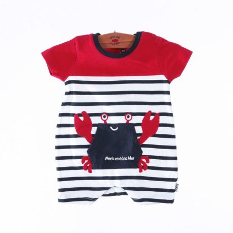 Combinaison courte bébé BOUBOULE