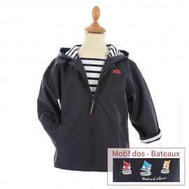Ciré marin doublé coton HOBY6 - Bateaux