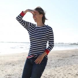 T.shirt marinière manches 3/4 ADIX