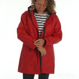 Ciré imperméable doublé hiver femme REGATE CAPTAIN CORSAIRE - coloris Rubis