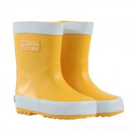Bottes de pluie jaunes enfant RAINBOOTS