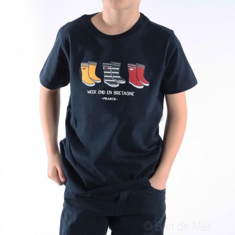 Tee-shirt manches courtes PIEDAUSEC