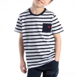 Tee-shirt marinière manches courtes WINCH