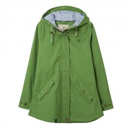 Veste coton imperméable pour femme TORI - vert prairie