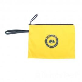 Pochette ciré zippée HUBLOT - jaune