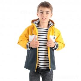 Ciré marin enfant mixte doublé molleton tricolore PITCH