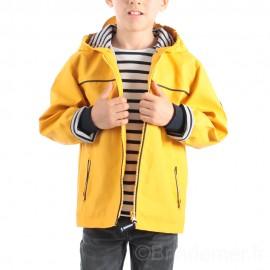 Ciré marin garçon doublé polaire VILTO - Jaune soleil