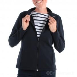 Gilet femme zippé bleu marine VANILLE