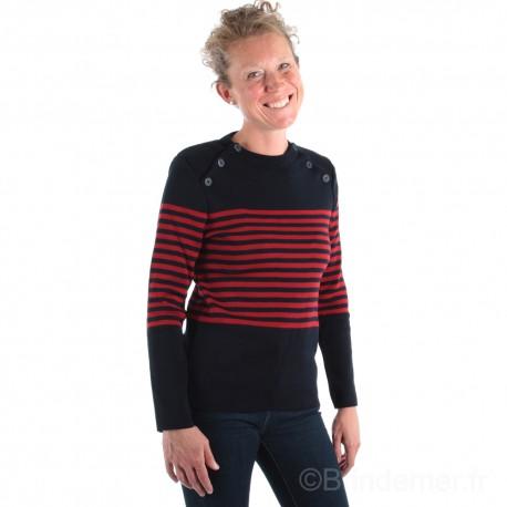 Pull marin femme STEFANA