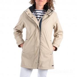 Ciré imperméable doublé hiver femme REGATE CAPTAIN CORSAIRE - coloris Sable