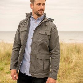 Veste imperméable GRAYSON - coloris CHARCOAL grey pour homme