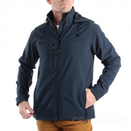 Softshell homme à capuche IACOPO
