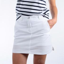 Jupe short pour femme Esprit de La Mer - coloris BLANC